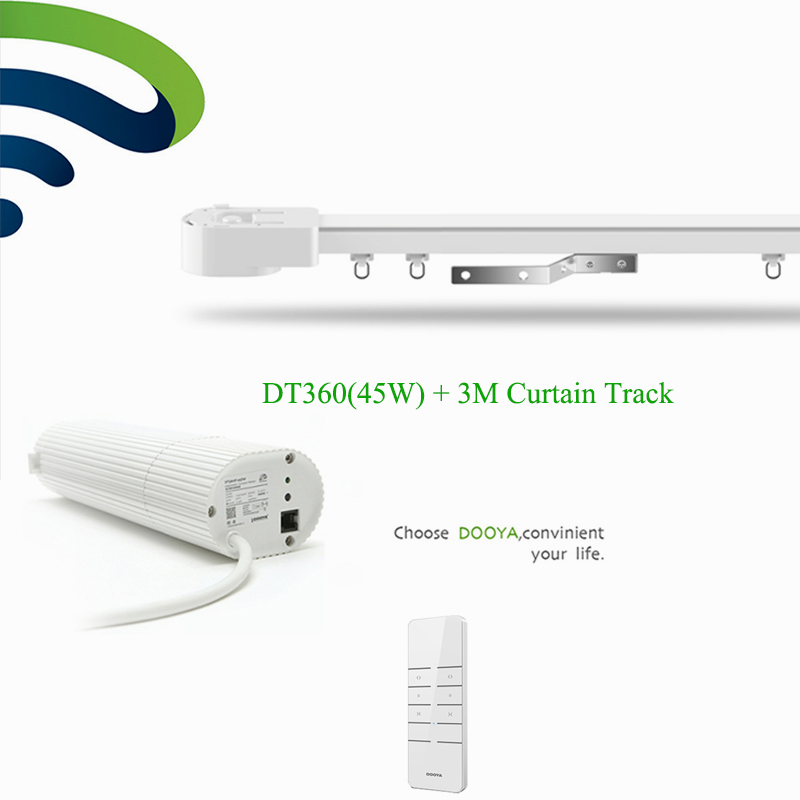Broadlink DNA Ewelink Dooya Electric Curtain Motor WIFI + 3M top quality super quite Customizable Electric Curtain Track
