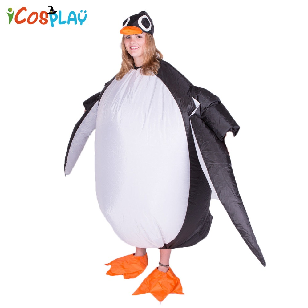 PARTY PENGUIN ADULT MENS ANIMAL COSTUME