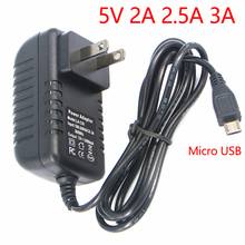 AC/DC 110V-220V Power Adapter Supply DC 5V 3A 2.5A 2A Micro USB 5V 1A Volt  Power Supply Adapter Charger EU US Plug цена