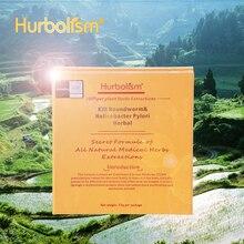 Hurbolism nouvelle poudre à herbes pour tuer le ver rond, Helicobacter Pylori, tuer les Ascaris, les Parasites et protéger les organes internes