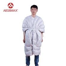 Ветер Жесткий носимых 95% гусиный пух спальный мешок UL Стёганое одеяло конверт пуховый спальный мешок для кемпинга Пеший Туризм альпинизмом 850 F