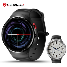 "LEMFO LES1 Reloj inteligente 1 GB + 16 GB Gran Memoria 1.39 ""OLED Pantalla android 5.1 OS GPS WIFI Arco Redondo smartwatch con cámara de 2.0 MP"