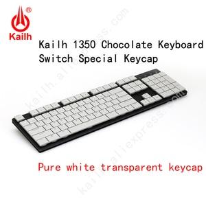 Image 2 - Kailh 104 Niedrigen Profil Tastenkappen 1350 Schokolade Gaming Tastatur Mechanische schalter ABS Tastenkappen kailh choc tastenkappen