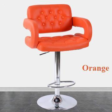 office computer orange color chair company  rotation stool black coffee green red color hair salon
