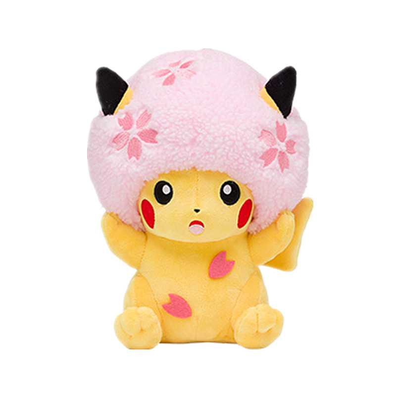 22CM Latest high quality Beanie Boos detective Pikachu&Easter Plush Toy Japanese movie anime Doll For Kid baby birthday gifts image