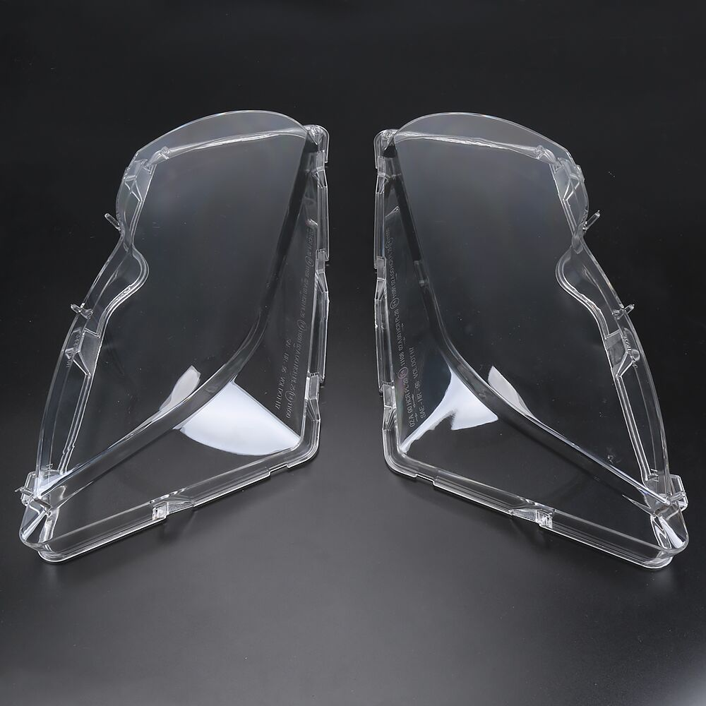 1 Pair For BMW Transparent Lampshade lamp shade front Shade LENSES of headlight For BMW E46 2001-2005 4DR 3-Series/Touring/Wagon oom control for eng lenses