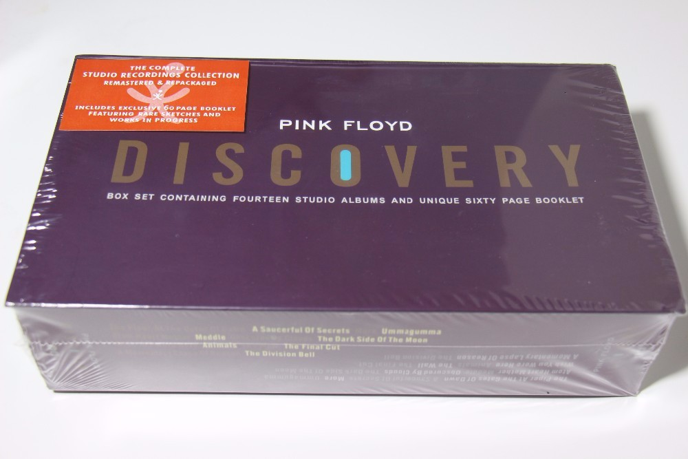 PINK FLOYD DISCOVERY 16 CD + BOOK Box Set NEW SEALED Album Free shipping