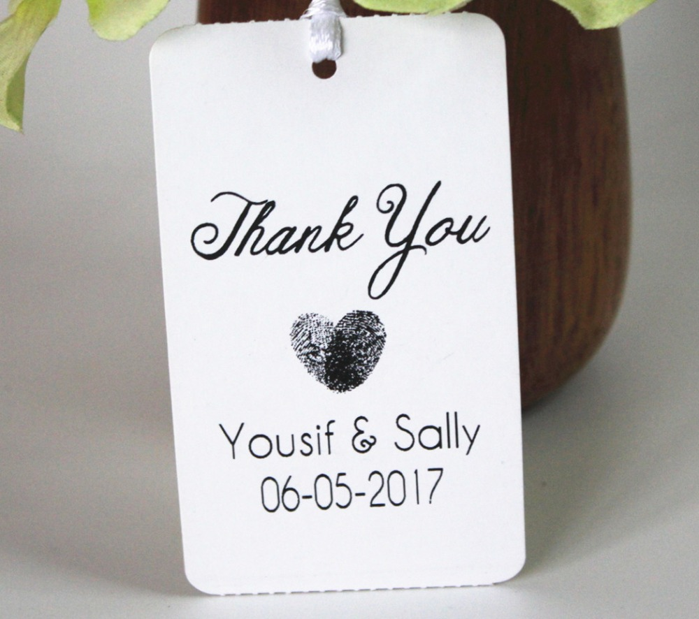 Custom tag Personalized Hang Gift Tag With Name For Wedding and ...