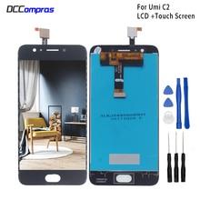 Для UMI umidigi C2 ЖК-дисплей Дисплей Сенсорный экран 5,0 дюймов телефон Аксессуары для UMI umidigi C2 Экран ЖК-дисплей Дисплей бесплатная инструменты