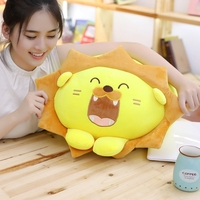 30 45cm Cute Yellow Tiger Plush Toys Fat Tiger Stuffed Plush Pillow Cushion Birthday Gift