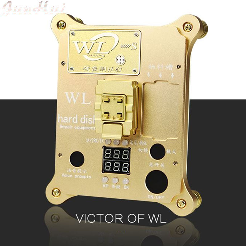 WL PCIE NAND Flash ic chip for iphone 5se 6s 6sp 7 7P PRO ard disk test repair instrument Programmer HDD Serial Number SN 2017 version pcie nand flash chip programmer tool kits machine fix repair hdd ic serial number for iphone 5se 6s 7 plus ipad pro