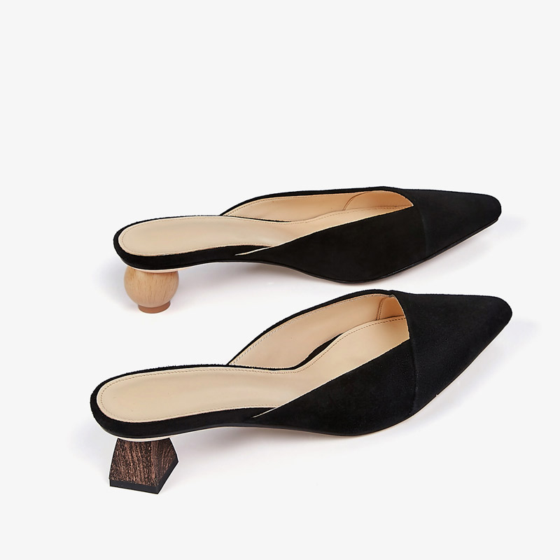 Señoras Zapatillas Puntiagudo Zapatos Talón Sandalias Diapositivas Verano Mujer De Fuera Show Tacón Show Slip Las Casual Bombas As Del Mujeres as On Moda Extraño Dedo 2018 Pie vXxx1wqUR