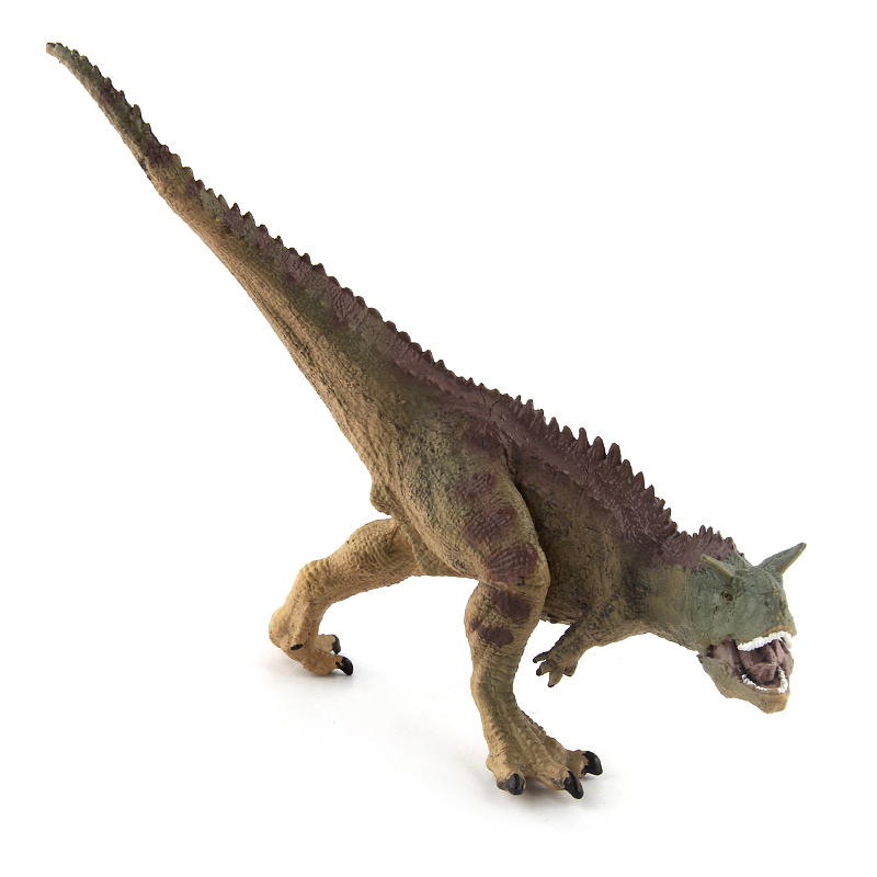 Jurassic Carnotaurus Dinosaur Action Figure Animal Model Collection Learning & Educational Mandible Moveable Toys Gift #E wiben jurassic carnotaurus dinosaur toys action figure animal model collection learning