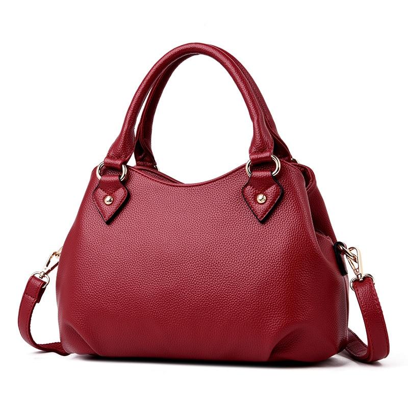 2019 New Fashion Genuine Leather Women Handbag Brand Luxury Leather Sheepskin Crossbody Bags For Women Elegant Shoulder Bag