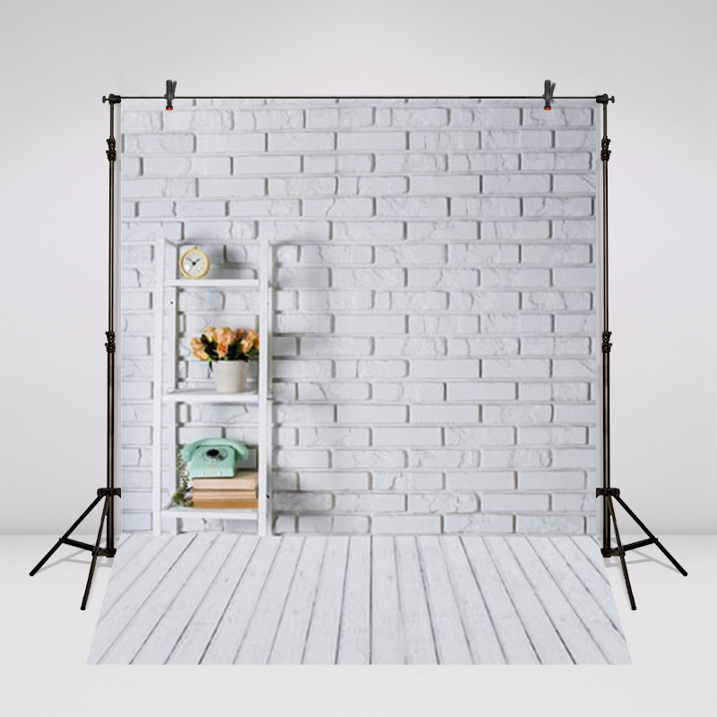Brick Wall Photography Backgrounds Digital Printed Vinyl Or Polyester Backdrop s1583 For Children Photo Studio shengyongbao 7x5ft brick wall theme vinyl custom photography backdrop photo studio backgrounds zq22