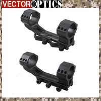 Vector Optics Tactical 20 MOA 35mm One Piece Scope Picatinny Mount with QD Mount Ring or Bolt Screws 21mm Base Dual Rings