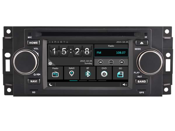 car gps dvd headunit radio for dodge ram 2006 2008 caliber. Black Bedroom Furniture Sets. Home Design Ideas