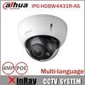 Dahua cctv ip câmera 4mp ipc-hdbw4431r-as suporte de áudio e alarme poe ik10 ip67 câmera com ir faixa de 30 m