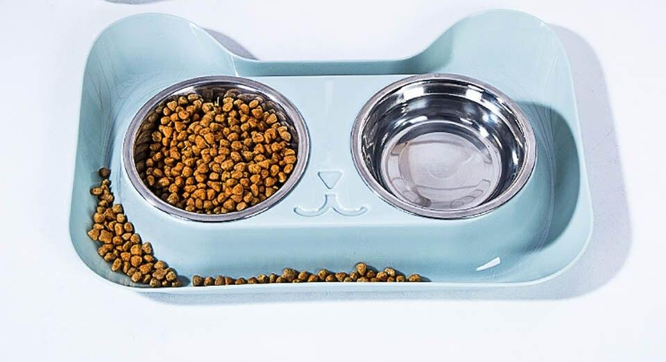 Tigela de inox de pets | Alimentador de cães | Alimentador de gatos