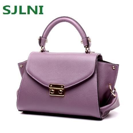 Brand Designer Genuine Leather font b Women b font Bags Fashion Real Leather Luxury Handbags font