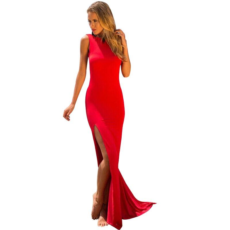 4cdda5932 2015 elegante largo vendaje vestido de fiesta formal de baile vestido  mujeres sexy backless vestidos Maxi envío libre del vestido