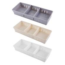Creative DIY Adjustable Storage Drawer Organizer Board Free Divider Tableware Kitchen Storage Box