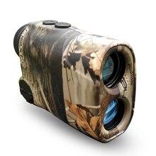 Jagd Laser-entfernungsmesser 400 mt Golf Entfernungsmesser und Geschwindigkeit Finder Bogen Gewehr Ahornblatt Camouflage Entfernungsmesser für Jagd