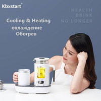 Kbxstart Thermal Insulation Electric Smart Thermostat Kettle Multifunction Health Teapot Glass Samovar With Heating Colding Cup