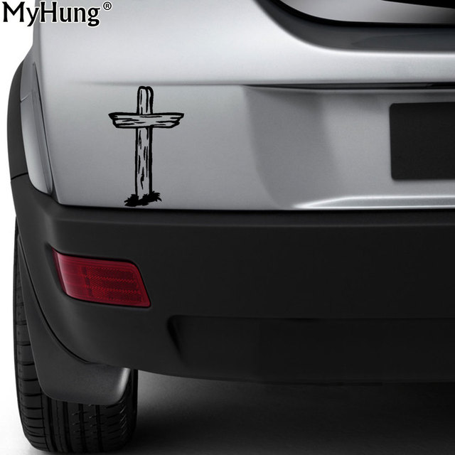 10cm15cm new vinyl sticker decals faith jesus cross decal car truck window wall laptop