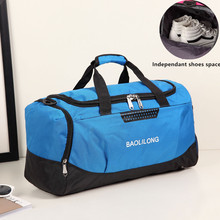 3efa7edfb1 Professional Large Sports Bag Waterproof Gym Bag Polyester Men Women  Fitness Training Duffle Sports Bag