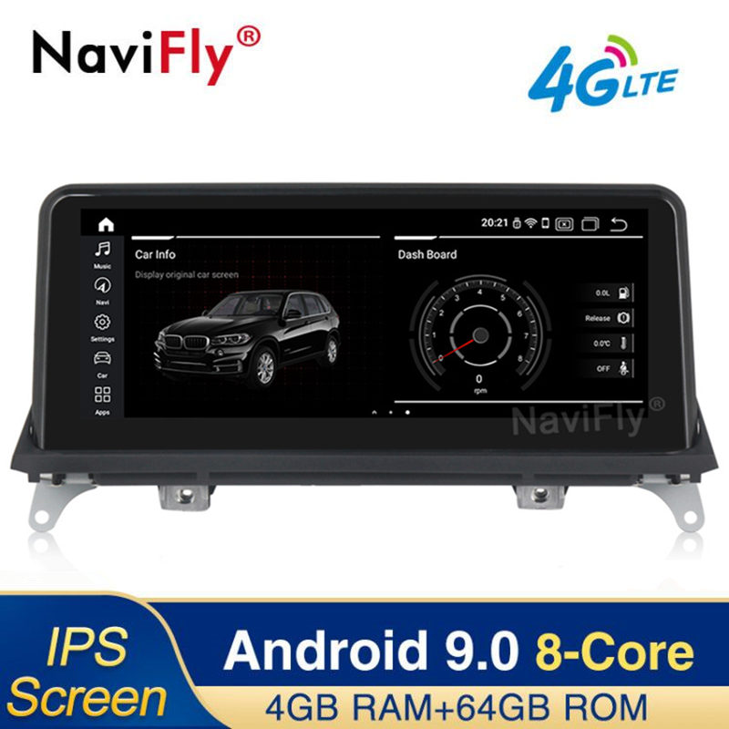 Car Dvd Multimedia-Player Radio Ips Android E70 CCC E71 Bmw X5 2009 2008 2007 64G