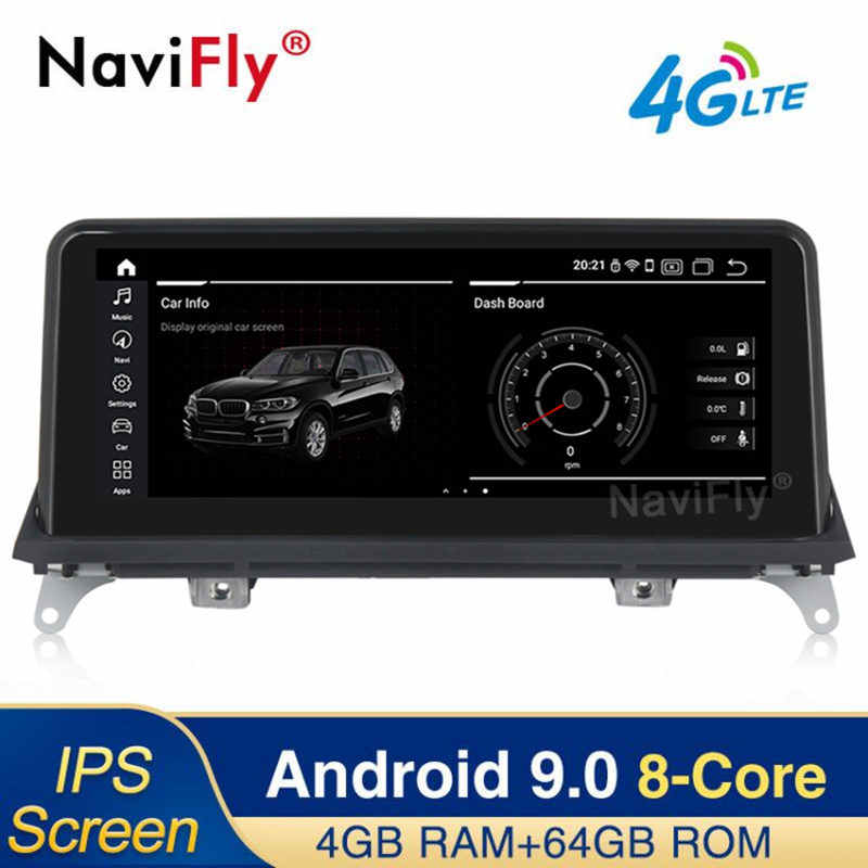 IPS Android 9,0 4 + 64G 4G LTE coche dvd radio reproductor multimedia GPS para BMW X5 E70 x6 E71 2007, 2008, 2009, 2010, 2011, 2013 CCC CIC E70