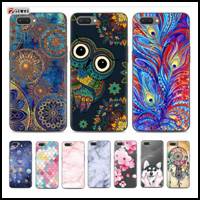 For Oppo A3S Cover For Oppo A3S Case Soft Cartoon TPU