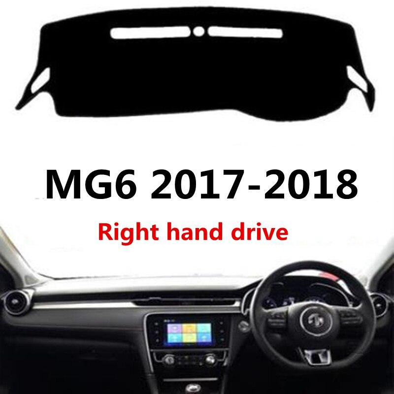 TAIJS Car Dashboard Pad Rug For MG6 2017 2018 Right Hand