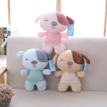 New Arrival Lovely Small Dog Plush Toy PP Cotton Stuffed Animal Doll Children Gift Toys
