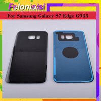 battery samsung galaxy 10Pcs/lot Original For Samsung Galaxy S7 Edge G935 G9350 G935F SM-G935F Housing Battery Cover Back Cover Case Rear Door Chassis (3)