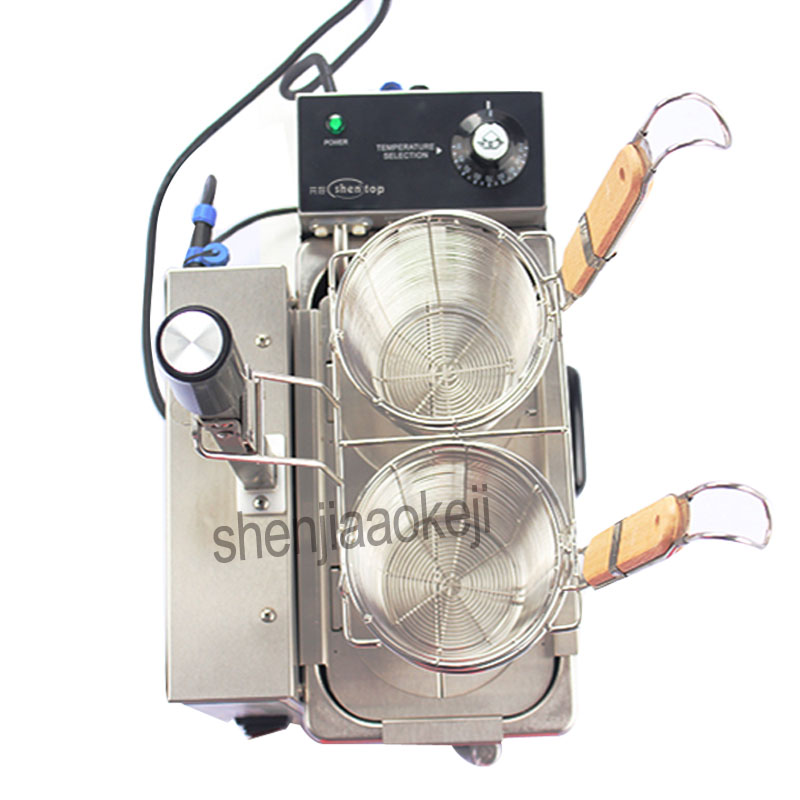 1pc Commercial Desktop Electric Hot Noodle Soup String Mala Tang Machine Stainless Steel Multi function Soup noodle machine 220v