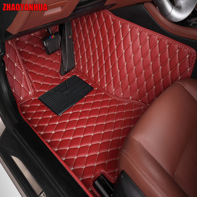 Awesome ZHAOYANHUA Car Floor Mats Made For Hyundai Azera Veloster Tucson Ix35 Santa  Fe Elantra Ix25 Verna