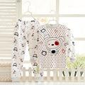 Pajamas Kids Pyjamas Boys Children's Sleepwear 5 kinds of colors Combed cotton Cute cartoon free shipping girls pajamas 50#