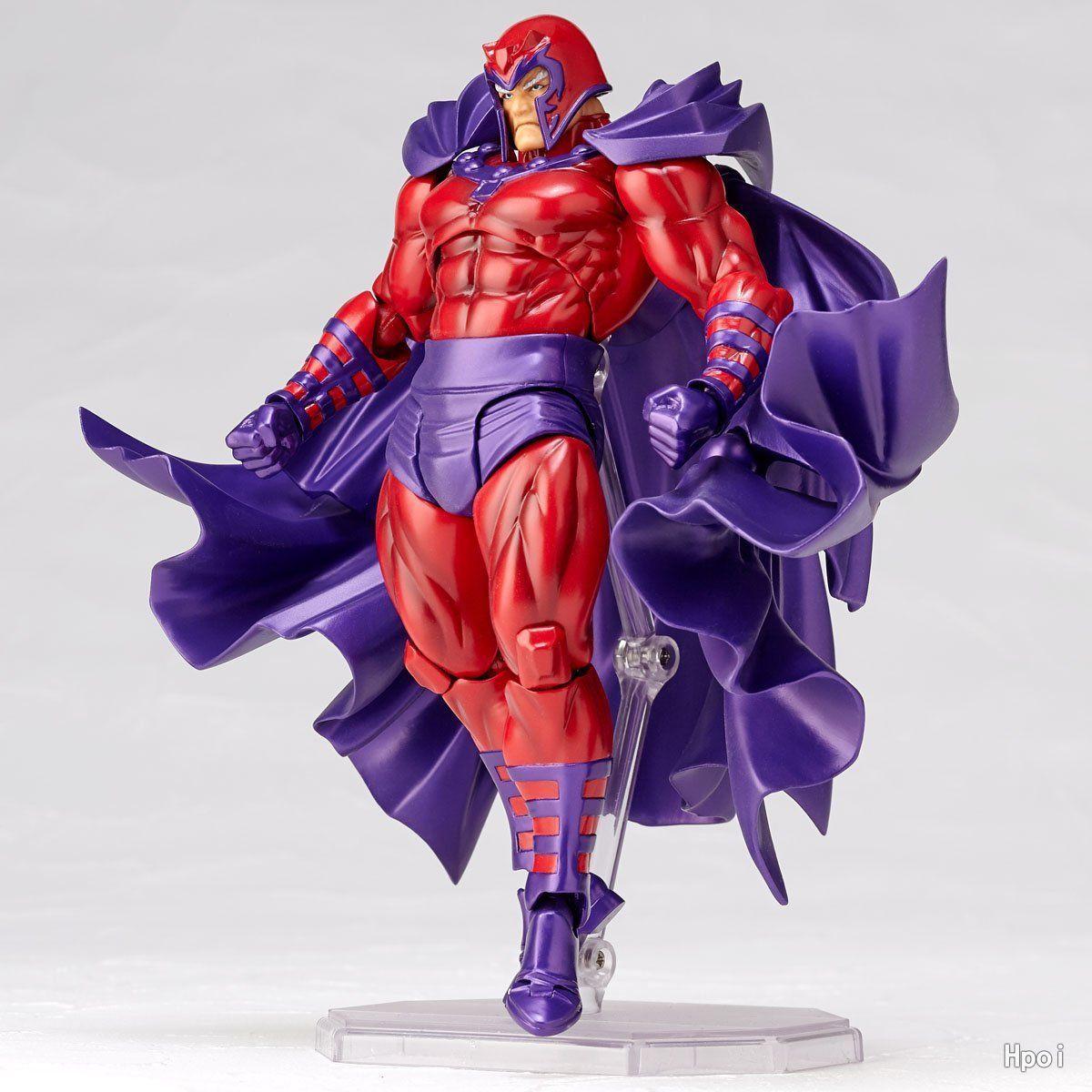 16cm Magneto figama X-MEN Max Eisenhardt Super Hero BJD Figure Model Toys