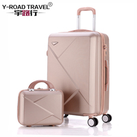 20222426inch Carry Ons Luggage Case Set, Children Women Suitcase,Travel Koffer With Password Lock , Rolling Trolley Hardcase