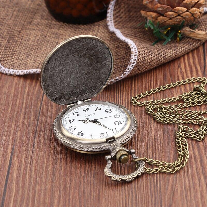 Reasonable Vintage Antique Carving Motorcycle Steampunk Quartz Pocket Watch Retro Bronze Women Men Necklace Pendant Clock With Chain Toy Discounts Sale Watches