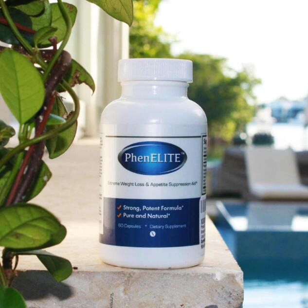 PhenELITE Extreme Weight Loss Appetite Suppression stong potent formula all natural lngredients 60 pcs