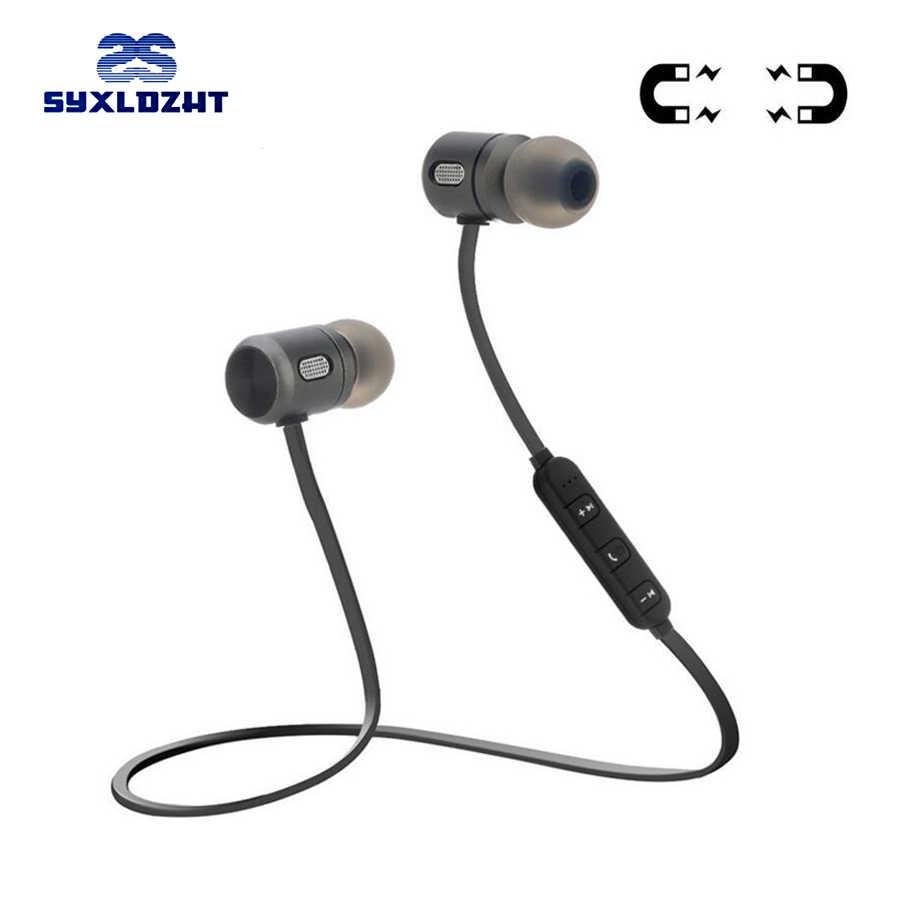 Бас Bluetooth наушники спортивные беспроводные наушники стерео Bluetooth  гарнитура наушники с микрофоном для телефона audifonos blutooth 254d9d34c5a12