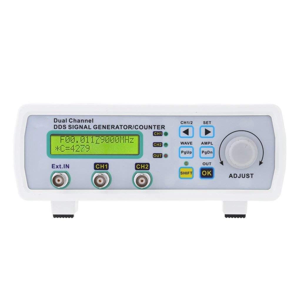 Compteur de fréquence arbitraire 200MSa/s 20 MHz de générateur de Source de Signal de double canal numérique de haute précision de prise de l'ue