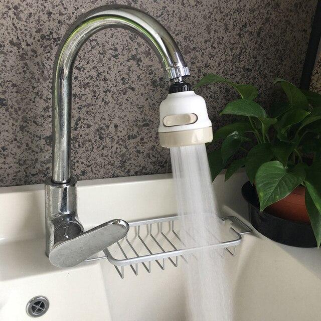台所のシャワーの蛇口タップ 3 レベル調整することができ 360 回転節水浴室のシャワーの蛇口濾過蛇口アクセサリー新
