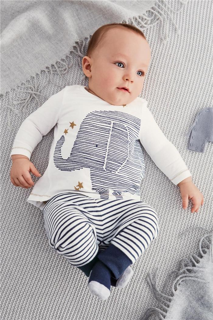 Aliexpress.com : Buy 2017 Autumn Baby Boy Girl Clothes Baby Clothing Baby Elephant Long sleeve