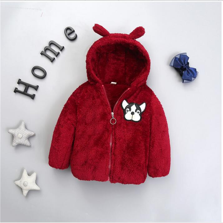 0-3 year old male and female baby winter thick warm jacket + free free gift the joker the clown prince of crime