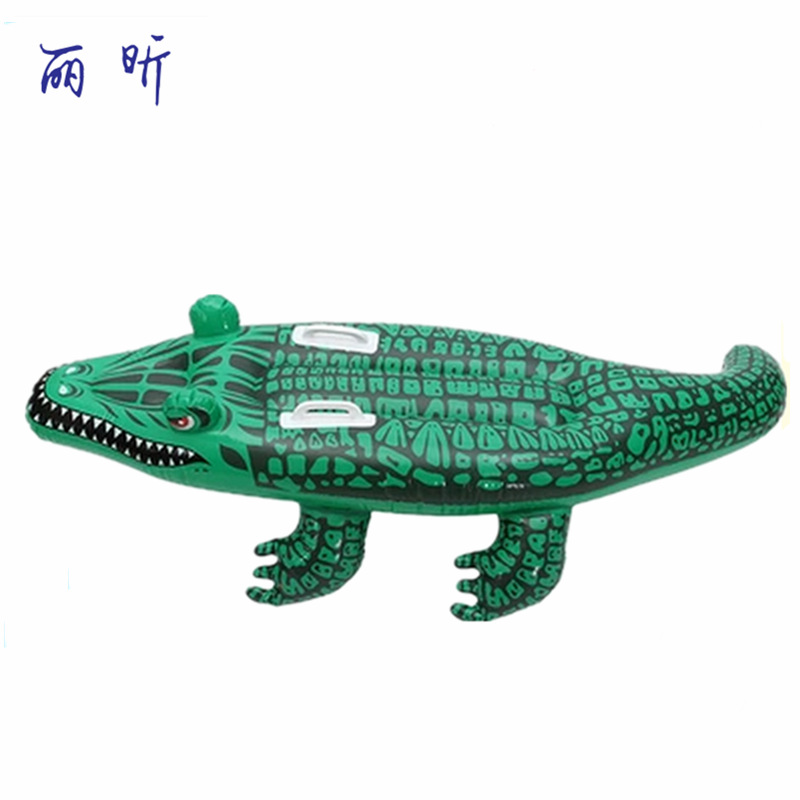 Child Adult Crocodile Shape Inflatable Swimming Rings PVC Water Boat Floats Inflatable Mattress Toys Swimming Pool Accessories dual slide portable baby swimming pool pvc inflatable pool babies child eco friendly piscina transparent infant swimming pools