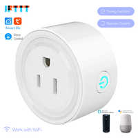 WIFI US EU UK Plug Smart Timing Socket Wireless Outlet Voice Intelligent Control Work with Alexa Google home IFTTT